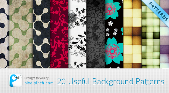 20 useful background patterns