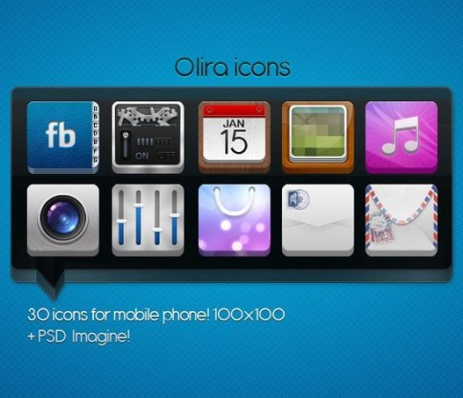 Olira icons by ~Ampeross
