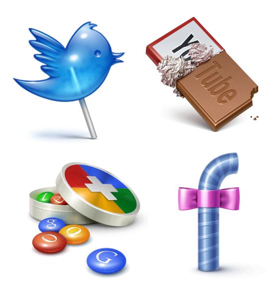 social media icons socialtreats