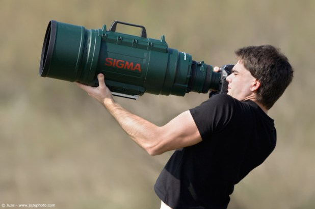 Sigma 200-500mm f/2.8 APO EX DG Ultra-Telephoto Zoom Lens feat The Green Monster