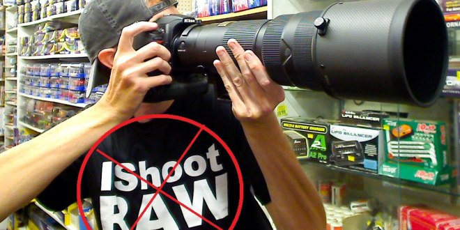 RAW Image Format Banned Worldwide By Reuters