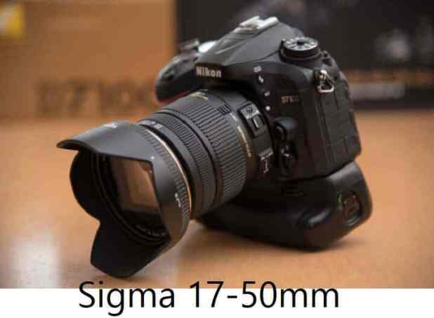Sigma 17-50mm for Nikon DX DSLR