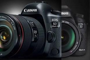 Canon 5D Mark IV vs 5D Mark III