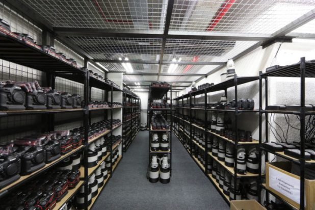 Canon Olympics Gear Room (1)