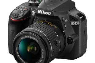 Nikon D3400 features specs samples