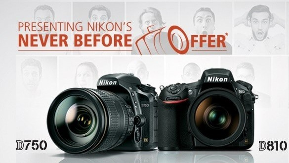 Buy Back Offer On Nikon D810 and D750 by Nikon India