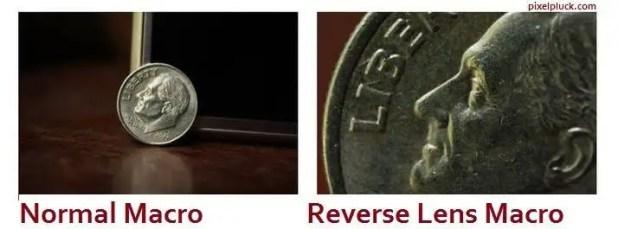 reverse lens macro lens tutorial