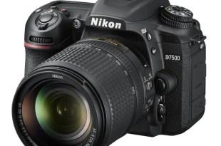 Nikon D7500 Announced 4K EXPEED5 8fps ISO 51200