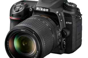 Nikon D7500 Announced 4K EXPEED5 8fps ISO 51200