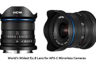 World's Widest f/2.8 Lens for APS-C Mirrorless Cameras
