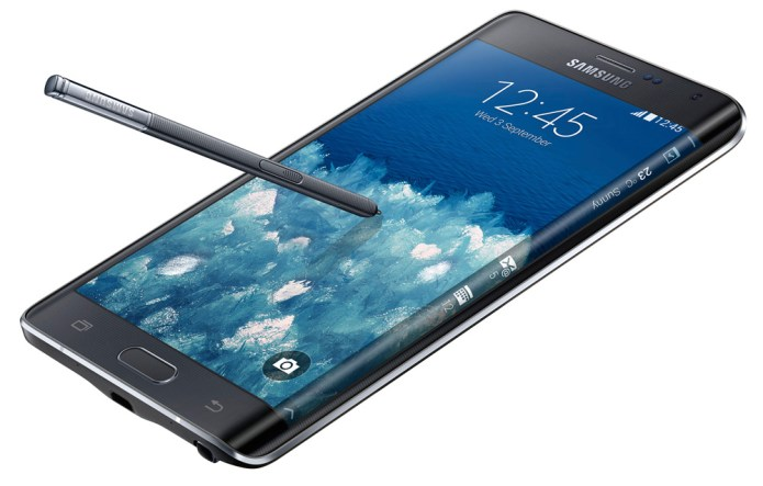 Samsung invents the slick Galaxy Note 4
