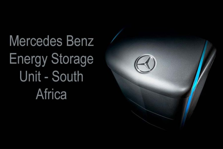 Electro Mechanica Brings the Mercedes Benz Energy Storage Unit to South Africa