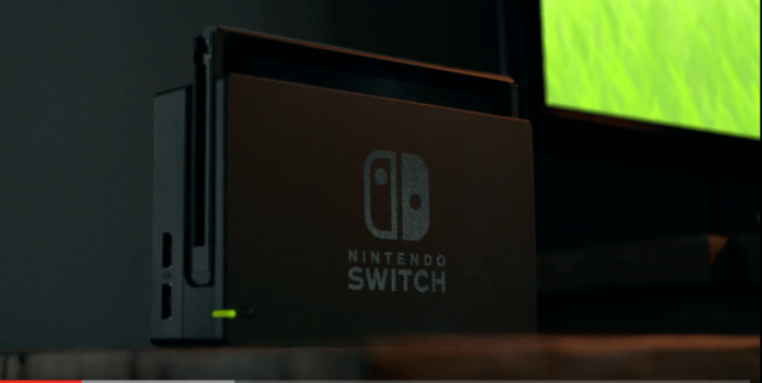 Nintendo Switch when it's docked to your TV