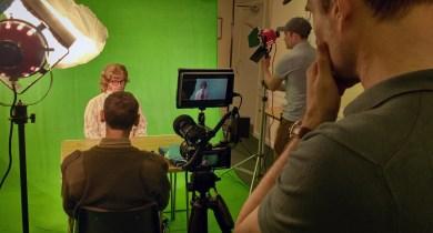 Green-screen shoot