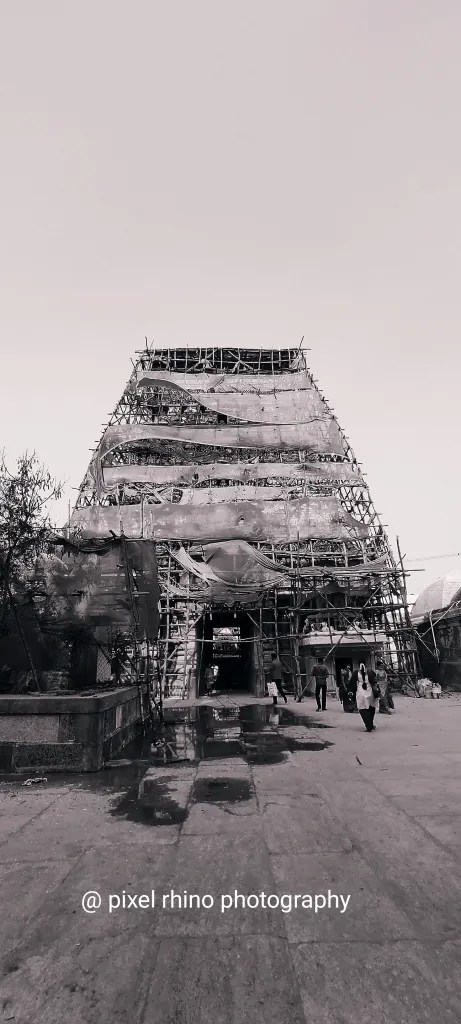 Image of old temple tower