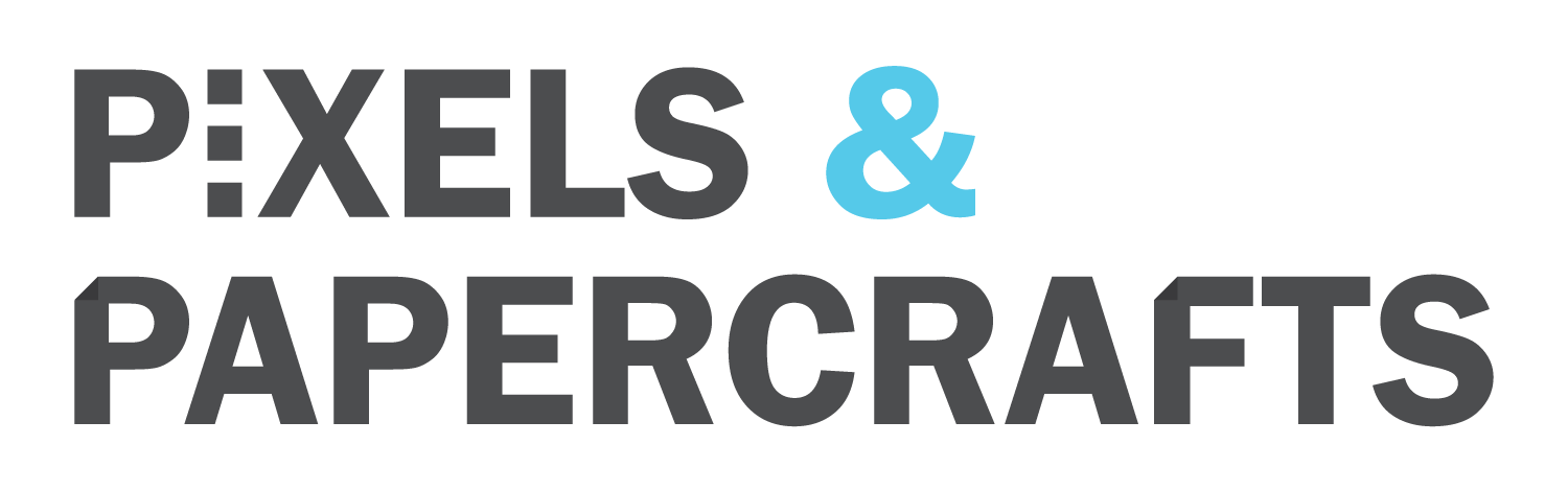 Pixels and Papercrafts Logo