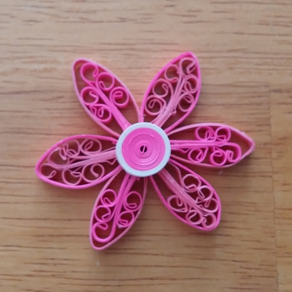 quilling royal flower