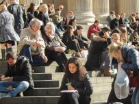 On the Steps of St Pauls