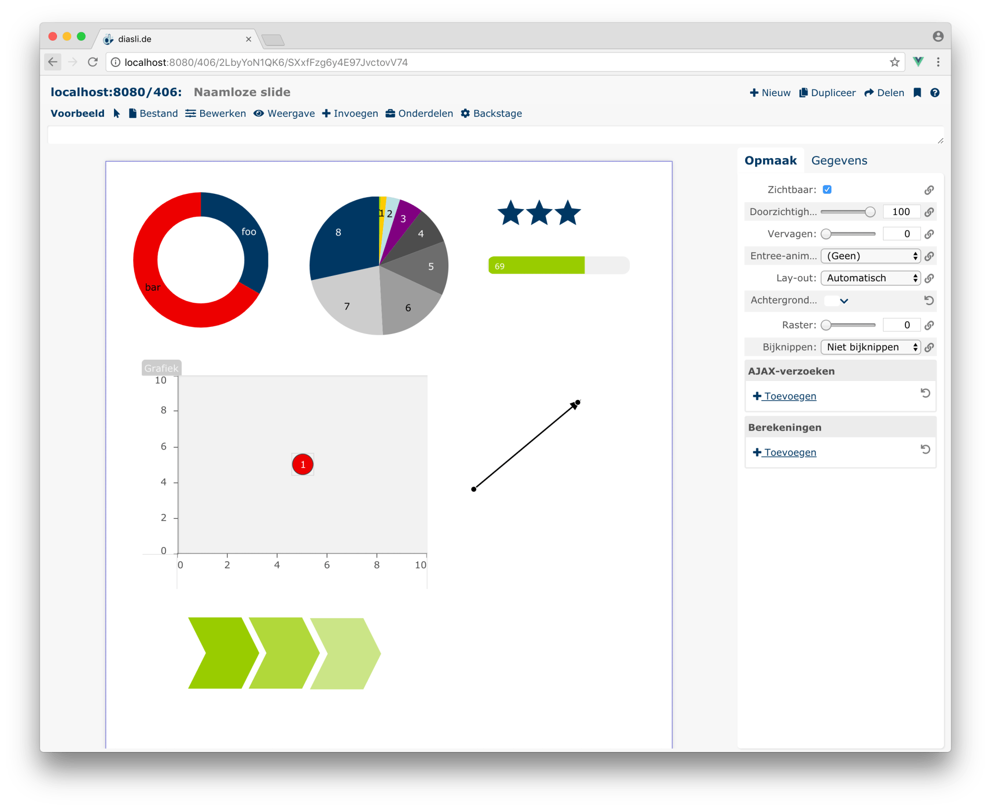 hight resolution of building interactive infographics right in the browser