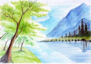 landscape drawing wallpapers pixelstalk fantasy