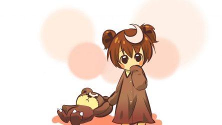kawaii anime wallpapers hd cute bear imac toy pixelstalk neko