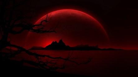 moon hd blood wallpapers background desktop stokes anne pixelstalk super
