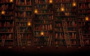 library wallpapers books pixelstalk huge