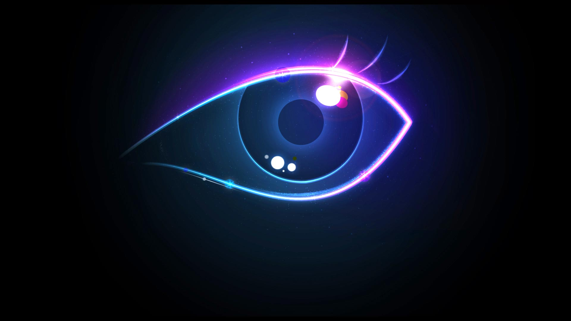HD All Seeing Eye Wallpaper