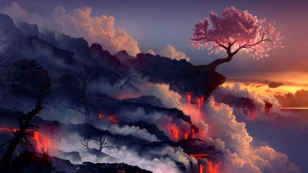 fantasy landscape wallpapers desktop hd pixelstalk