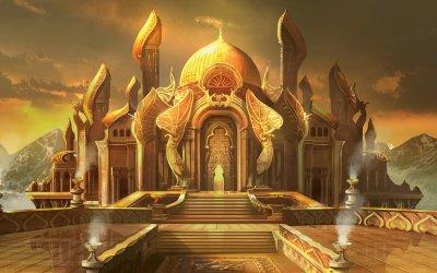 Fantasy Palace Wallpaper
