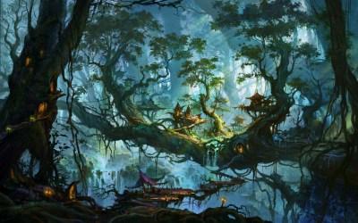 forest enchanted hd wallpapers desktop pixelstalk