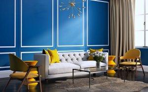 furniture wallpapers interior living