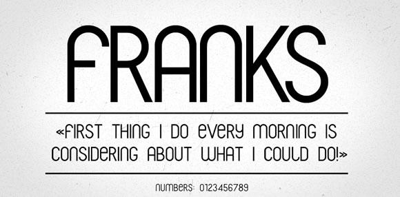 Franks_Font