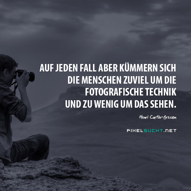 Fotografie-Zitate
