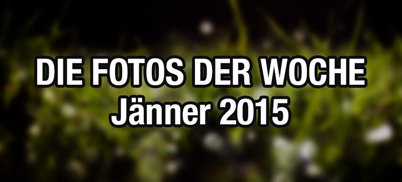 """Die """"Fotos der Woche"""" vom Jänner 2015"""
