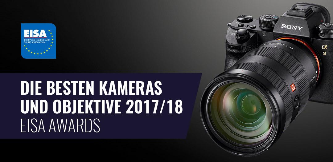 Die besten Kameras und Objektive 2017/18 – EISA Awards