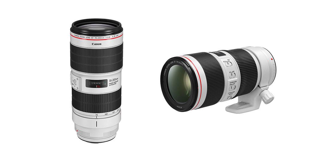 Canon überarbeitet 70-200mm f/4L IS II und 70-200mm f/2.8L IS III