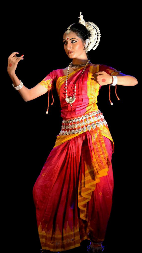 Mudra or hand movement Odissi