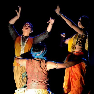 A scene from dance drama Chitra