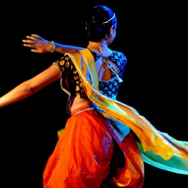 Kathak moves by Sanjukta Wagh