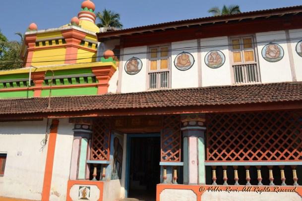 Temple in Malvan