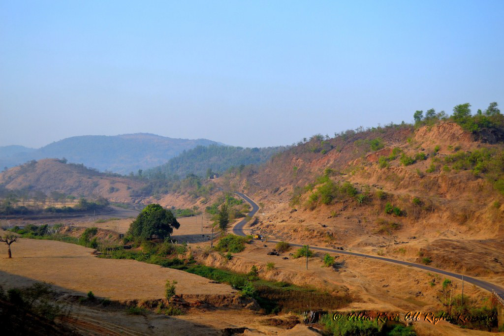 Landscape between Kudal and Tarkarli