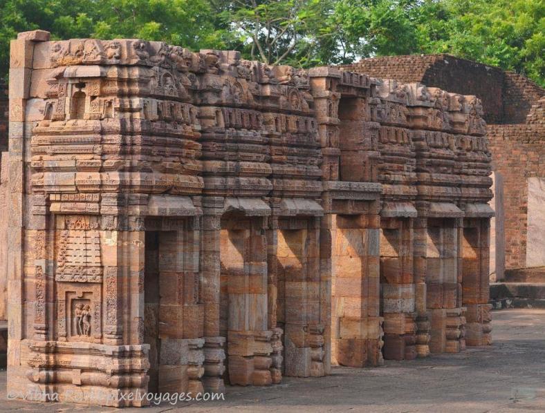 At the Buddhist site of Ratnagiri