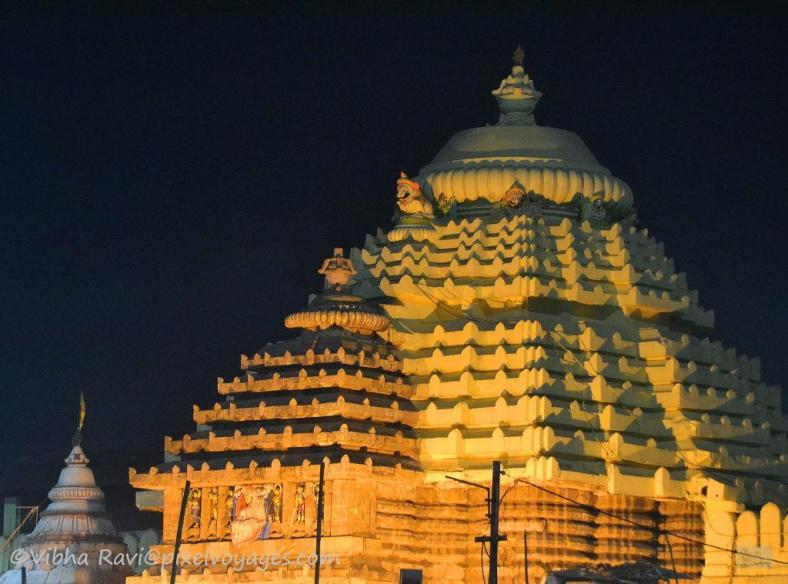 Jagannath Puri temple from outside