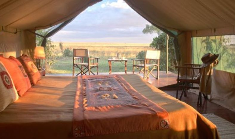 Governors' Camp Collection tent in Masai Mara