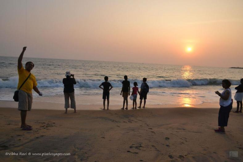 A sunset at Kollam Beach is worth your time