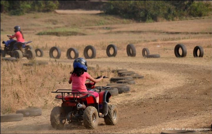 ATV or quad bike rides in Saputara