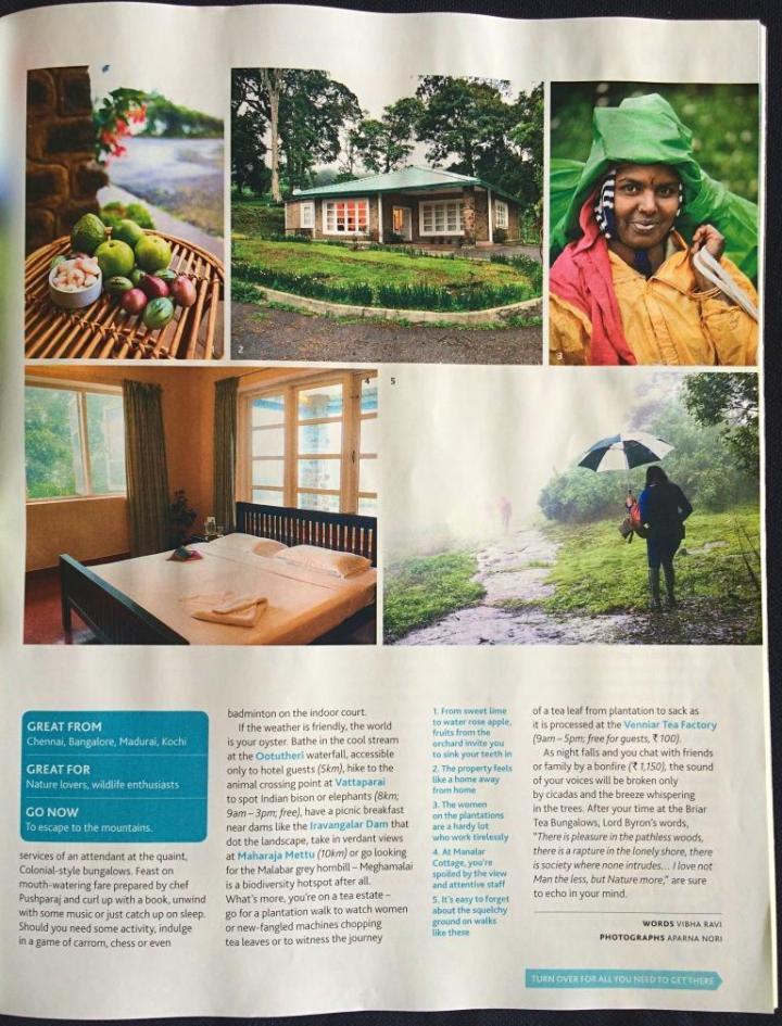 Lonely Planet Magazine India Meghamalai story Vibha Ravi-Page 2