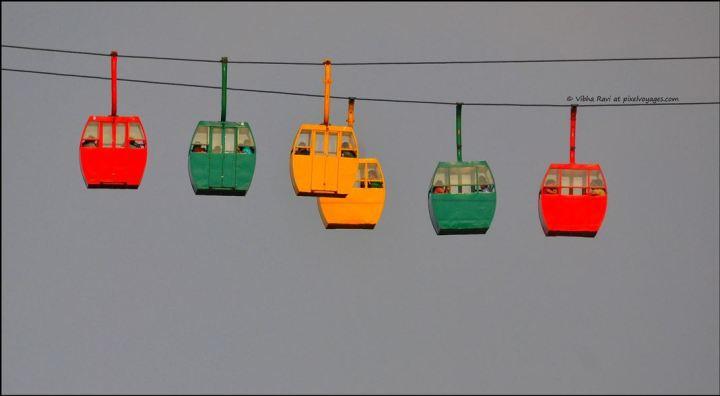 Saputara ropeway cable cars