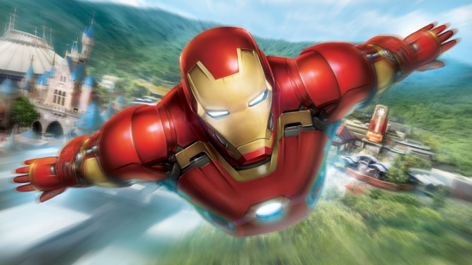 Iron Man Experience - picture sourced from Disney Parks blog